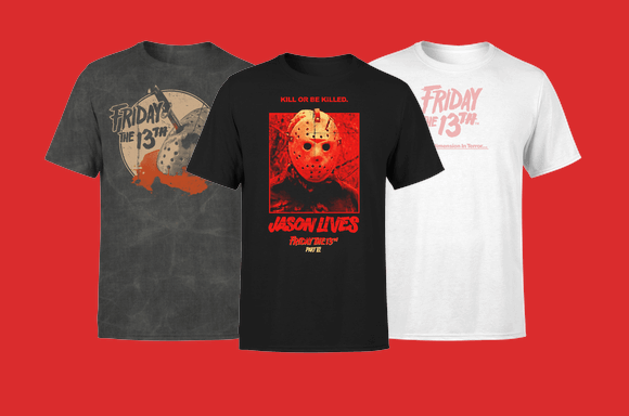 30% korting op Friday The 13th Kleding