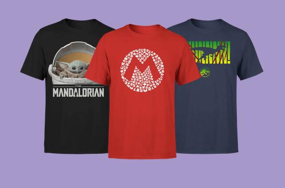 2 voor €20 T-shirts