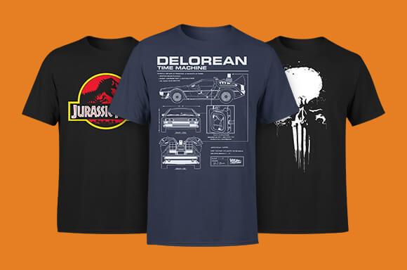 2 voor €19,99 T-Shirts
