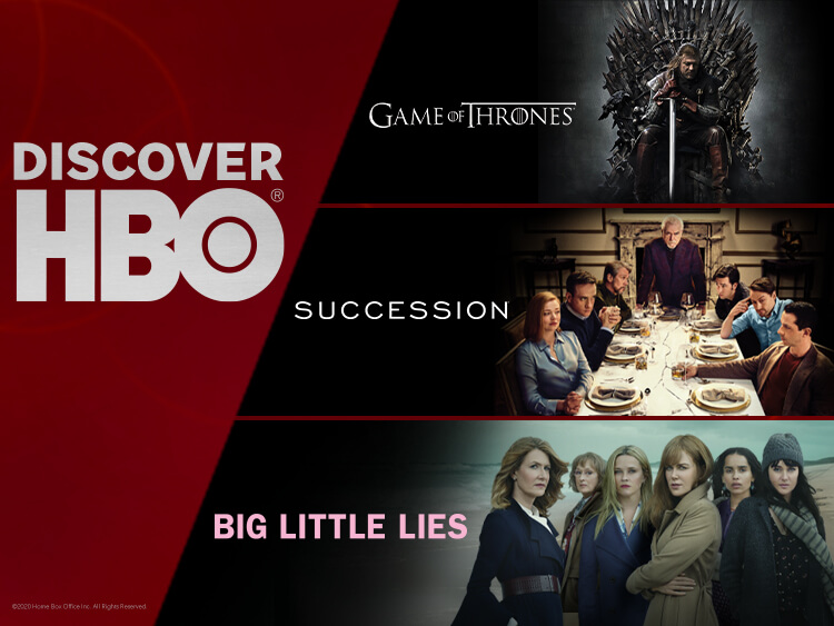 DISCOVER HBO AANBIEDING