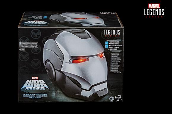 Hasbro Marvel Legends Avengers War Machine Role Play Helm