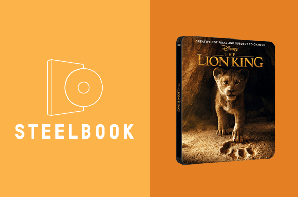 LION KING (LIVE ACTION) STEELBOOKS