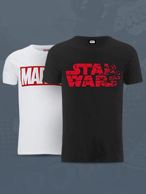 Geek t-shirts: 2 voor €28