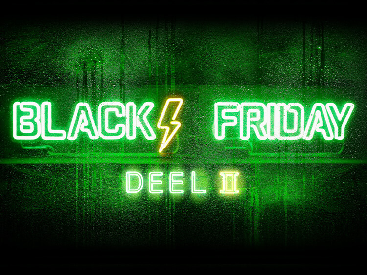 BLACK FRIDAY DEEL II
