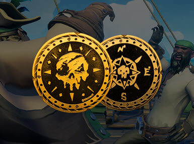 Sea of Thieves Verzamelmunt: Gouden Variant - Zavvi Exclusive