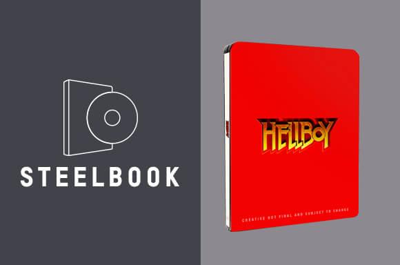 HELLBOY 4K STEELBOOK BUNDEL