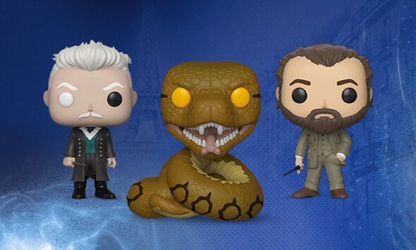 Fantastic Beasts 2 Pop Vinyl