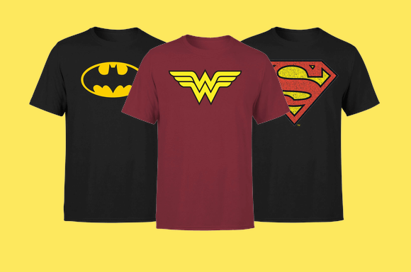 DC Flash Sale - Tees only £8.99