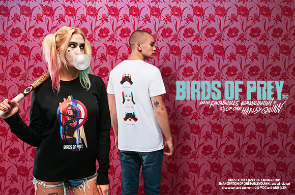 EXCLUSIVE <BR>BIRDS OF PREY T-SHIRT & SWEATSHIRT