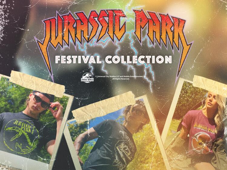 JURRASIC PARK - FESTIVAL COLLECTION