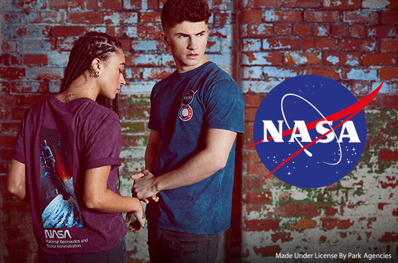 EXCLUSIVE NASA COLLECTION T-SHIRTS