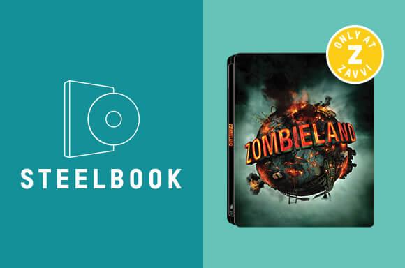 ZOMBIELAND 10TH ANNIVERSARY STEELBOOK