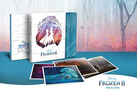 FROZEN 2 <br>COLLECTOR'S EDITION STEELBOOKS