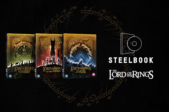 Limited Edition Lord Of The Rings Steelbook Set