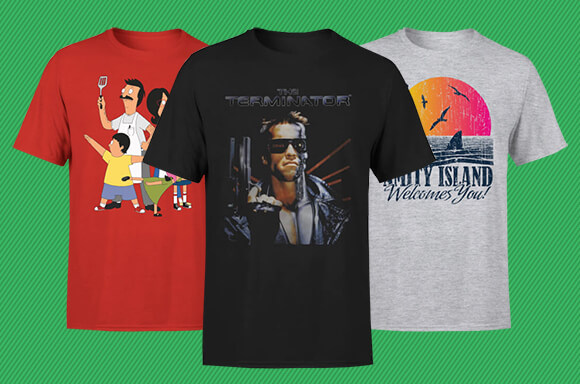 $9.99 MOVIE AND TV TEE'S