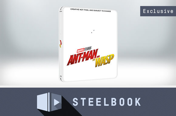ANT-MAN AND THE WASP 3D LIMITED EDITION STEELBOOK (INCLUDES 2D VERSION)