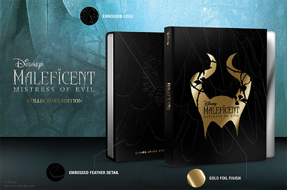 MALEFICENT: MISTRESS OF EVIL COLLECTOR EDITION STEELBOOKS