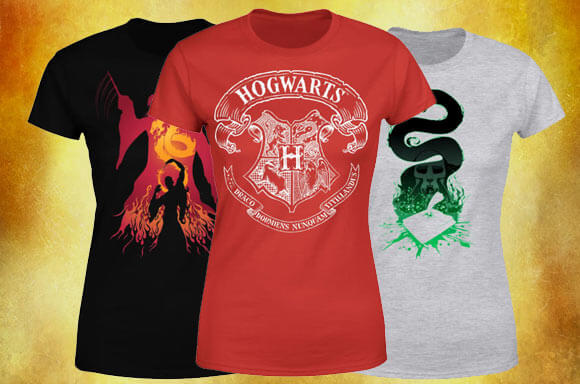 3 FOR 2 WOMEN'S HARRY POTTER T-SHIRTS