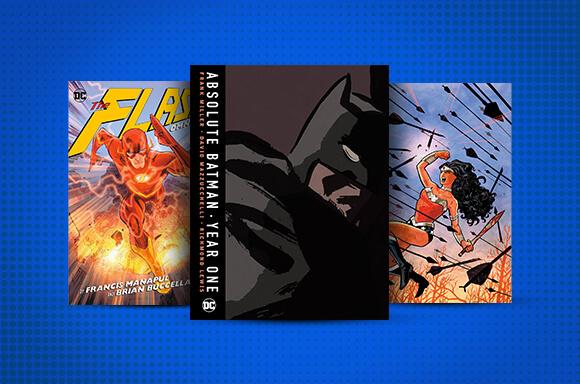 DC COMICS BOOKS