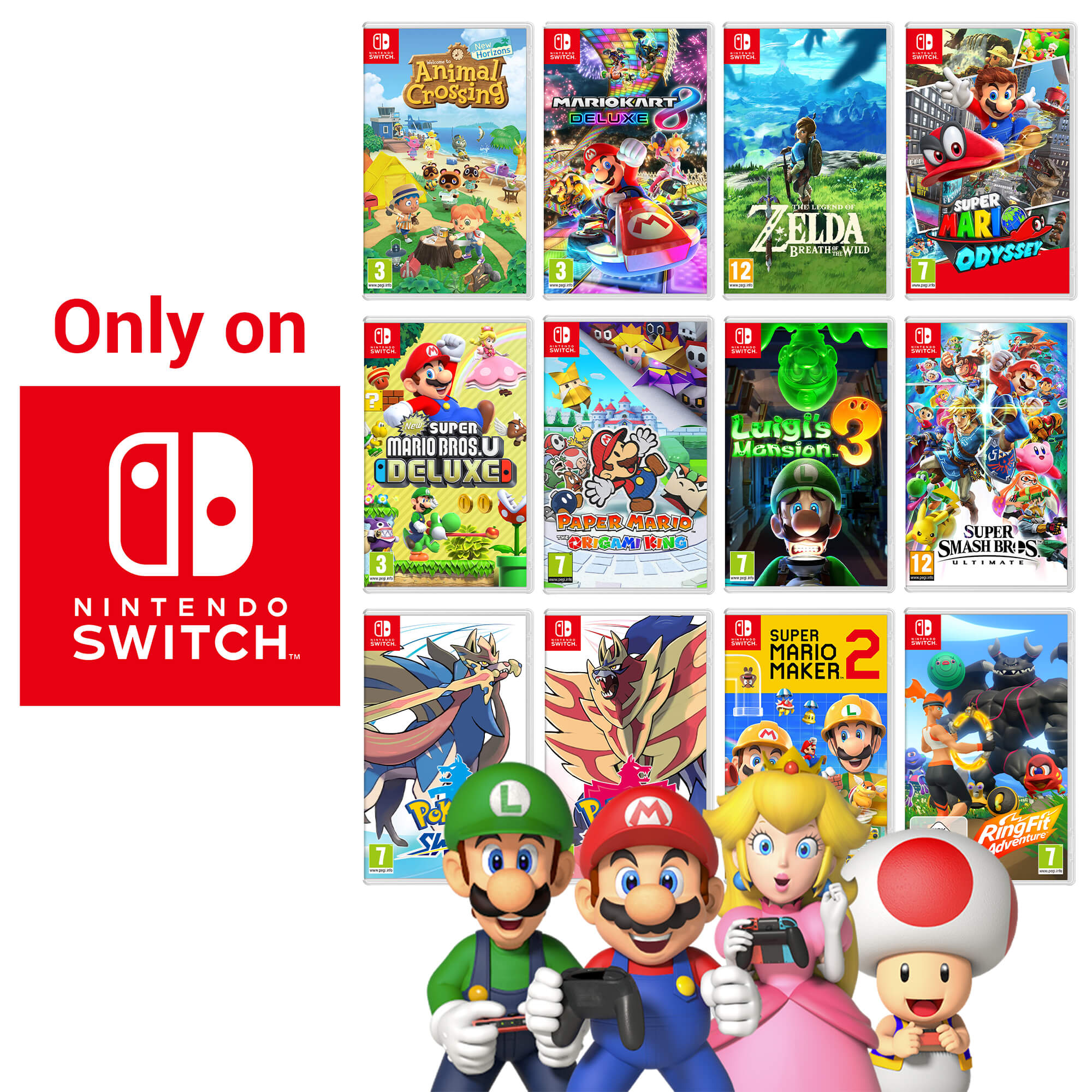 Games Only On Nintendo Switch