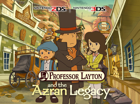 Professor Layton and the Azran Legacy - Nintendo 2DS | Nintendo 3DS