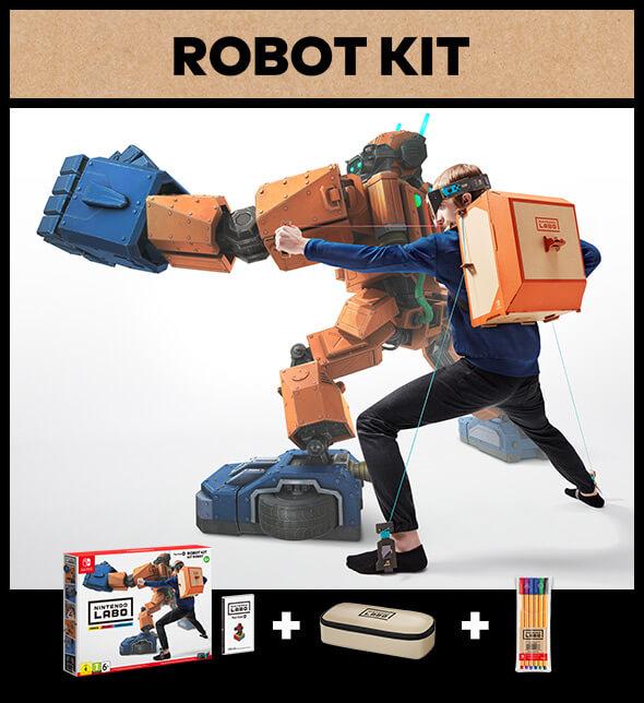 <b>Nintendo Labo: Robot Kit</b>