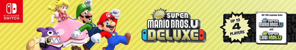 New Super Mario Bros. U Deluxe on Nintendo Switch