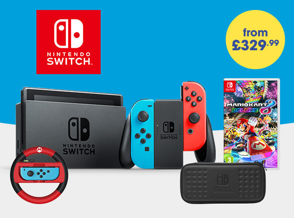 Star Bundles - Nintendo Switch - From £329.99