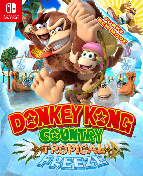 <span style='color: #998B8B;'><b>Donkey Kong Country: Tropical Freeze on Nintendo Switch</b></span>