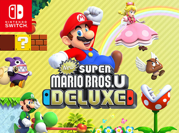 New Super Mario Bros U Deluxe on Nintendo Switch