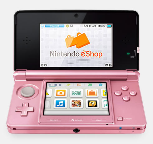 <br>Nintendo eShop on the Nintendo 3DS Family