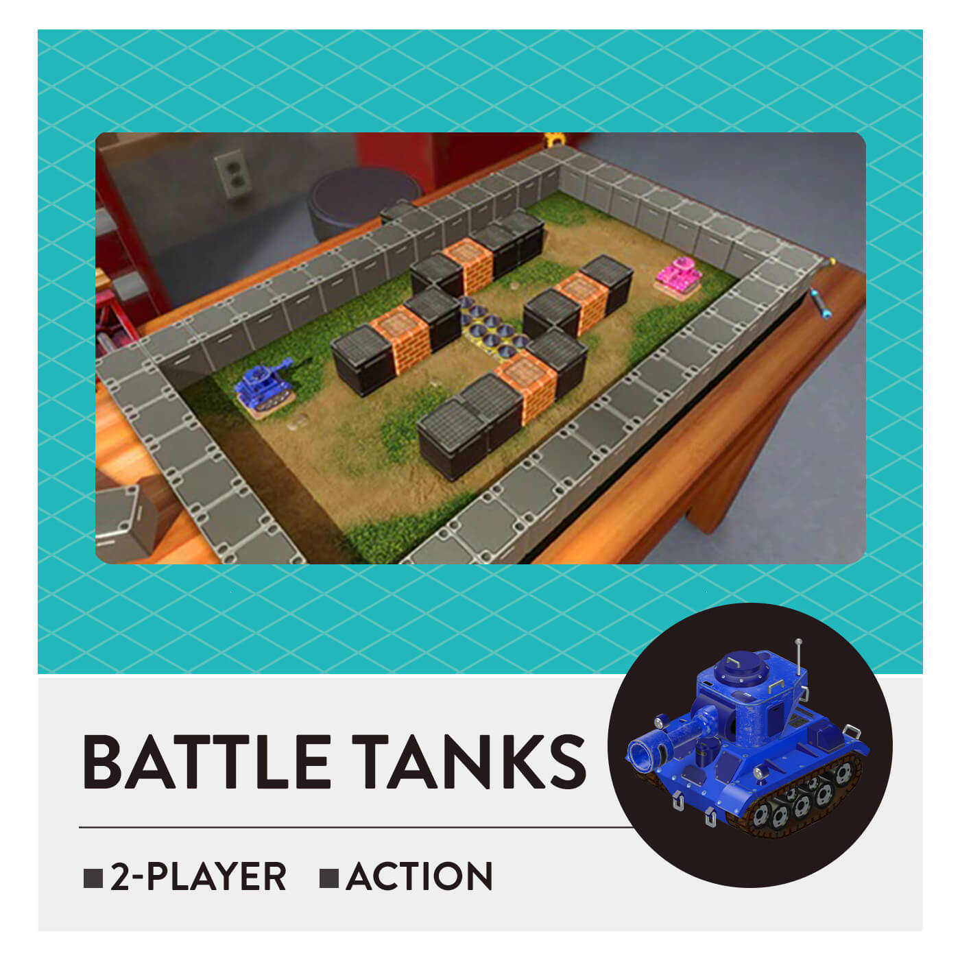 51 Worldwide Games - Battle Tanks