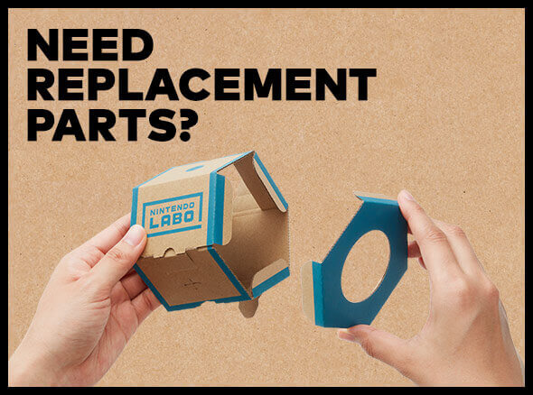 <b>Nintendo Labo Replacement Parts</b>