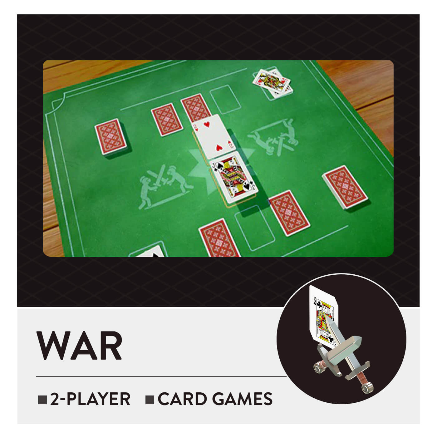 51 Worldwide Games - War