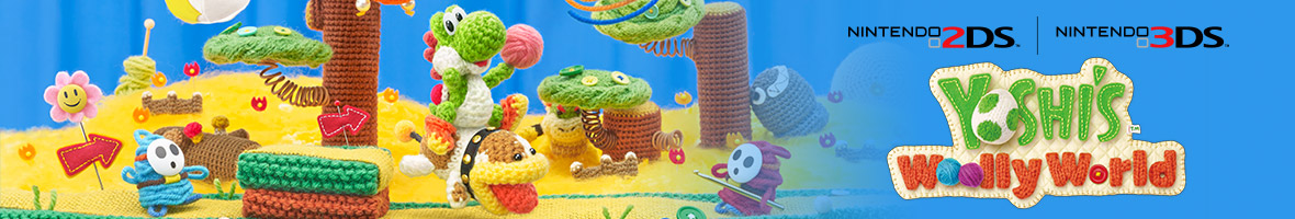 Poochy & Yoshi's Woolly World (Nintendo 3DS)
