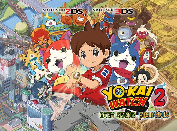 <b>YO-KAI WATCH 2: Bony Spirits and YO-KAI WATCH: Fleshy Souls</b>