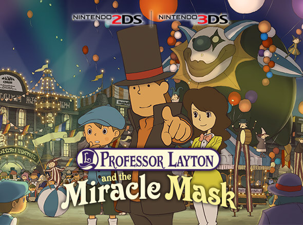 <b>Professor Layton and the Miracle Mask</b>