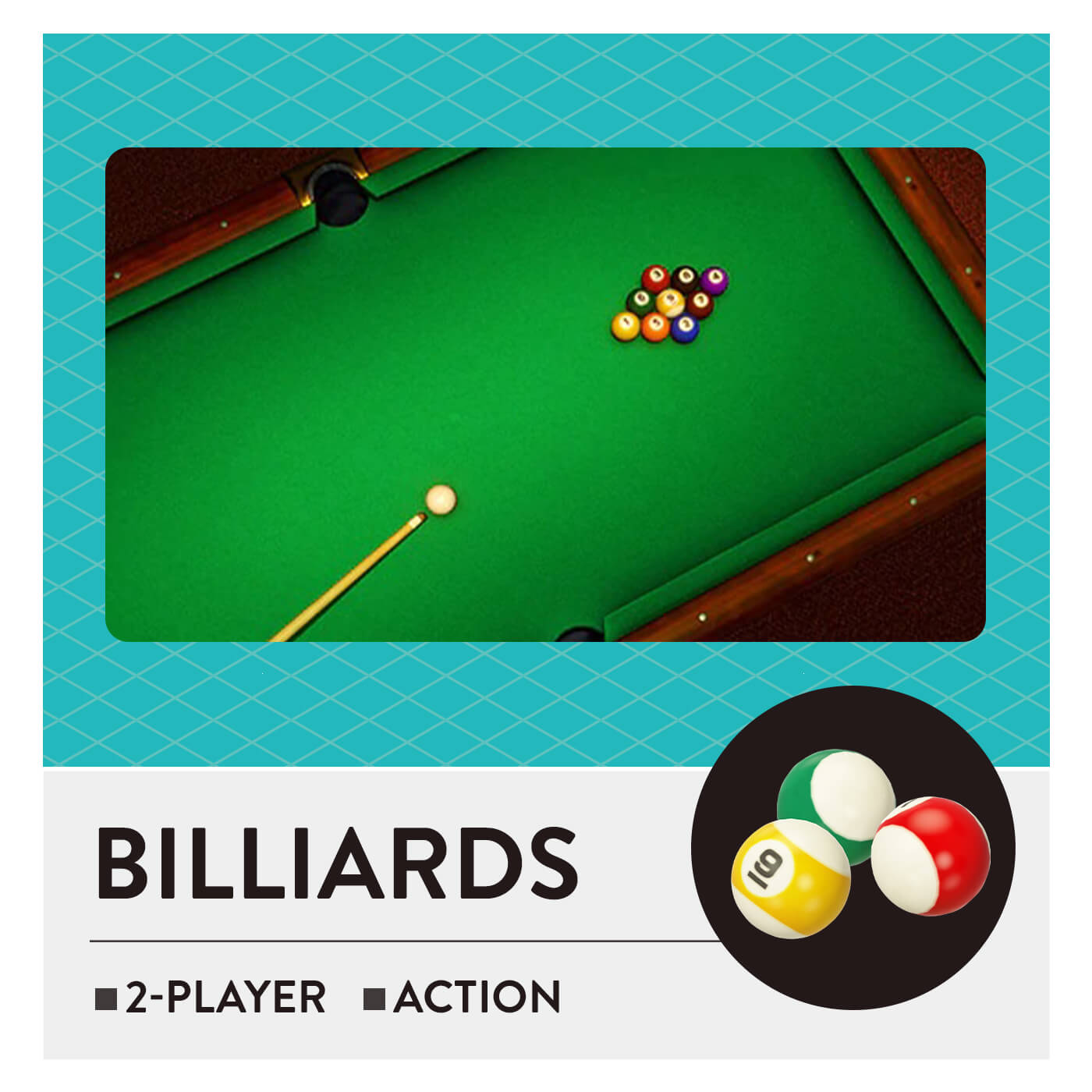 51 Worldwide Games - Billiards
