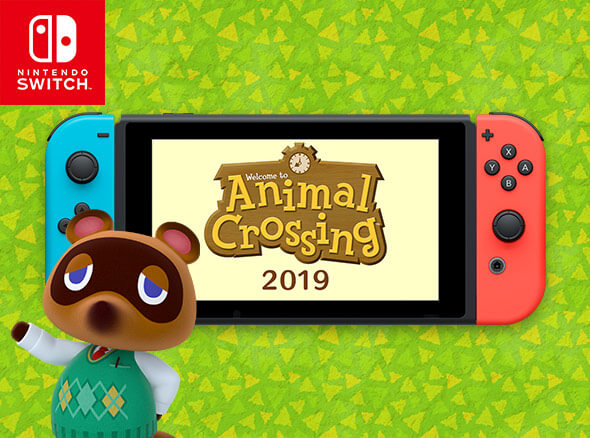 <b>Animal Crossing for Nintendo Switch (working title)</b><br><br>