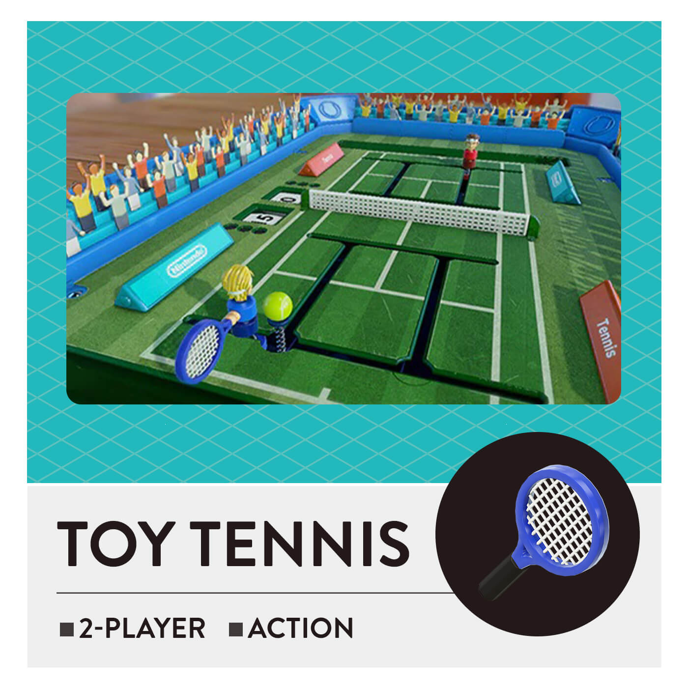 51 Worldwide Games - Toy Tennis
