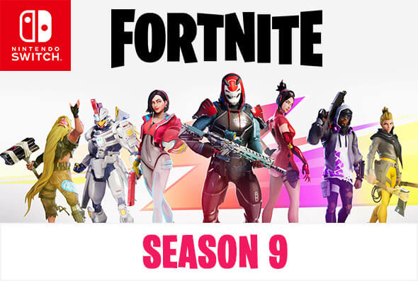 Fortnite on Nintendo Switch - Season 9 is now available!