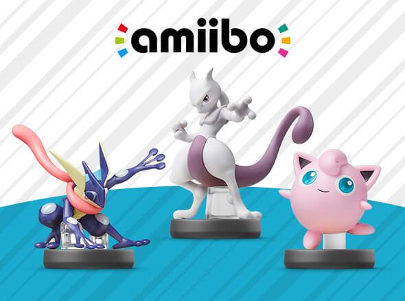 <b>Pokémon amiibo</b>