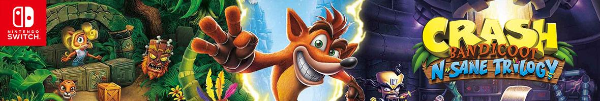 Crash Bandicoot N.Sane Trilogy on Nintendo Switch