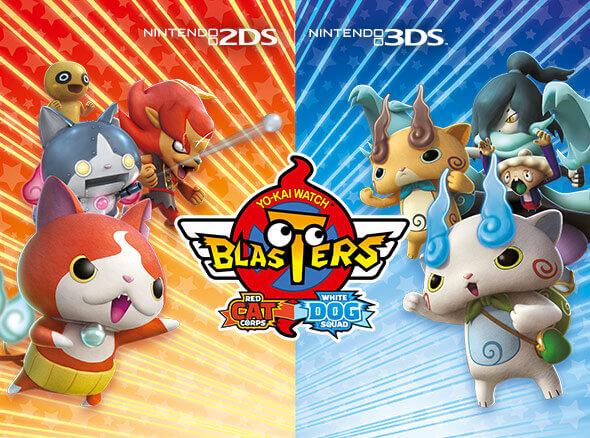 <b>YO-KAI WATCH BLASTERS: Red Cat Corps and YO-KAI WATCH BLASTERS: White Dog Squad</b>
