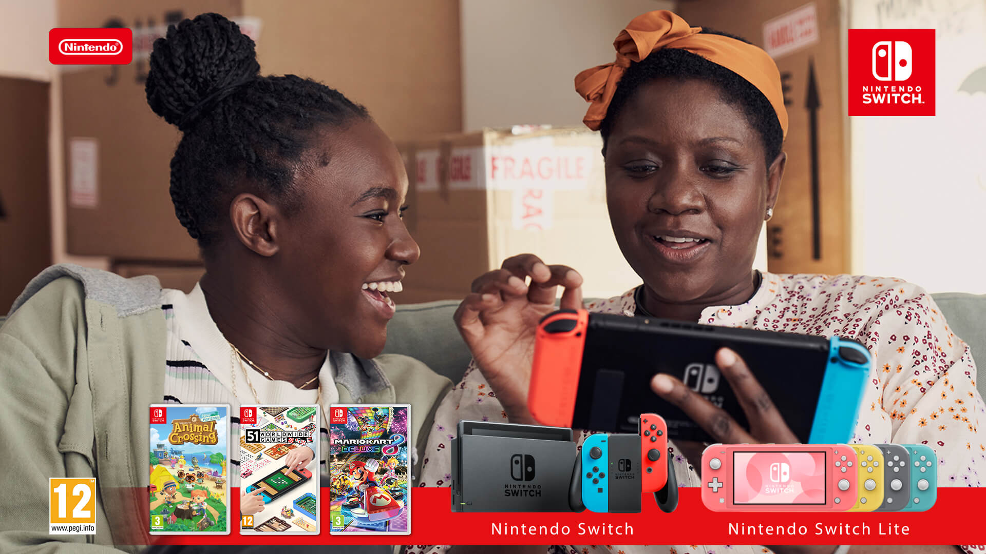 Be Together With Nintendo Switch
