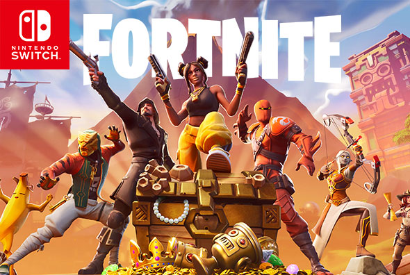 Fortnite on Nintendo Switch - Season 8 is now available!