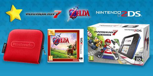 Nintendo 2DS Heroes Pack - £95.99
