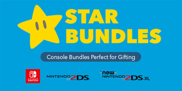 Star Bundles. Console bundles perfect for gifting