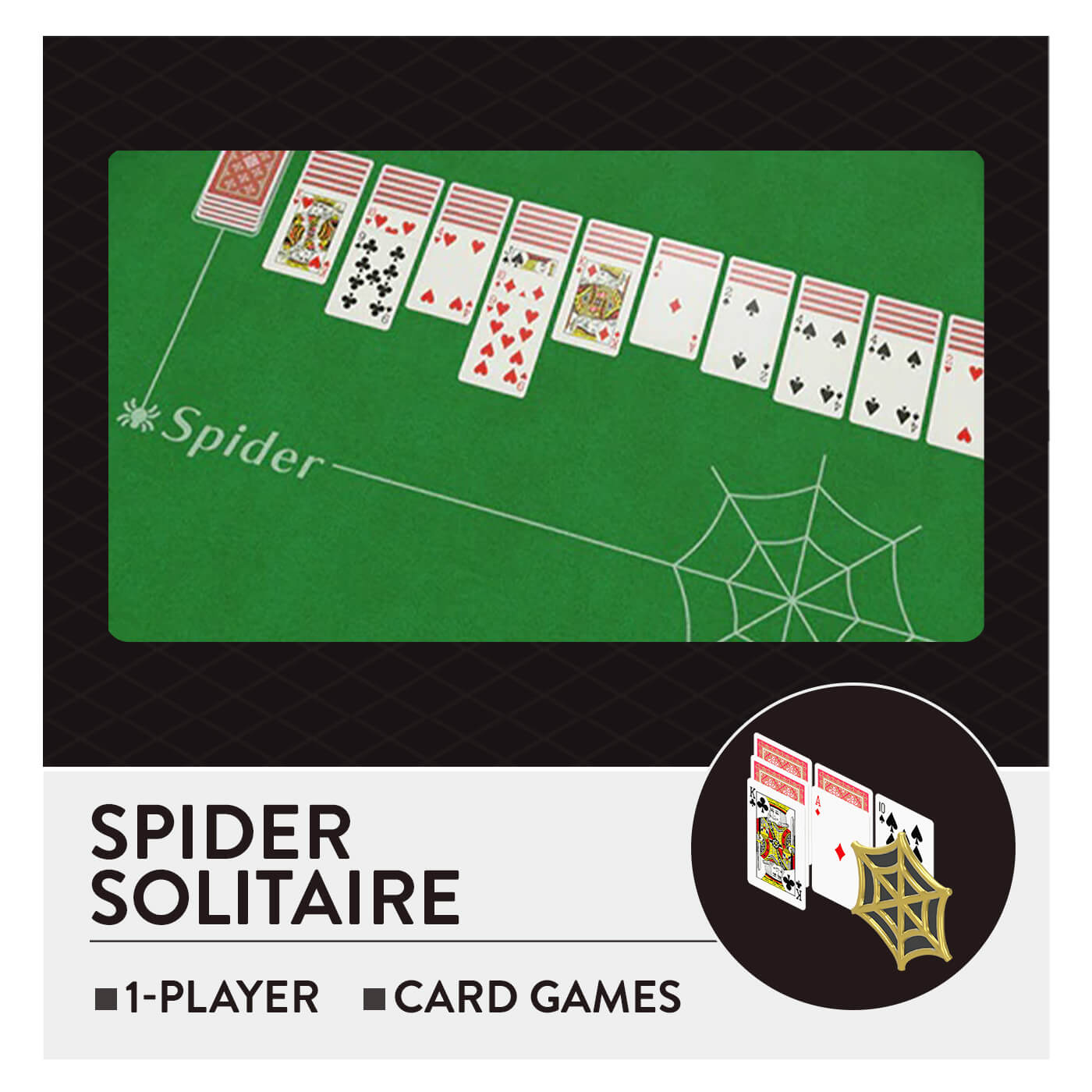 51 Worldwide Games - Spider Solitaire