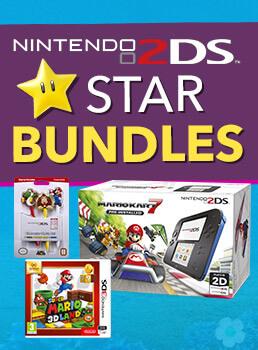 <b>Nintendo 2DS Star Bundles</b>